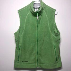 Columbia Women's Fleece Zip Up Vest Size Large